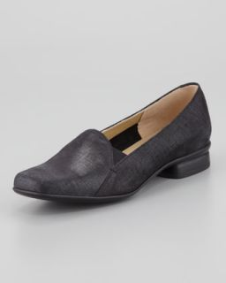 Ellen Slip on Loafer, Black   Sesto Meucci   Denim (blue) (37.0B/7.0B)