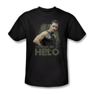Battlestar Galactica Had Me At Hello Sci Fi TV Show T Shirt Tee Clothing