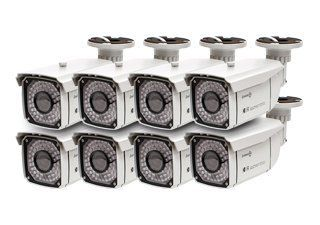 8 PACK SYSTEM BUILDER Color Sony Super HAD CCD High Resolution 650 Line Infrared Bullet with 2.8 12mm Varifocal Lens and 49 Infrared LEDS : Bullet Cameras : Camera & Photo