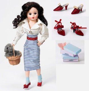 "Madame Alexander Dolls Dorothy and Her Ruby Slippers, 10"", Wizard of Oz 70th Anniversary Collection: Toys & Games"