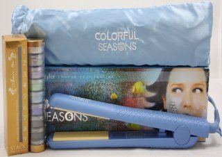 Herstyler Season 6 Blue + Amore Mio 9 Stack Shimmer Powder : Flattening Irons : Beauty