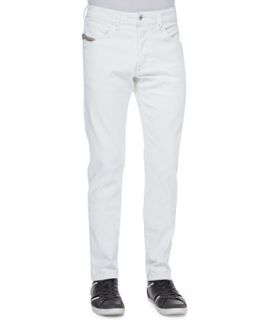 Mens Belthar Straight Leg Jeans, White   Diesel   Black (38)
