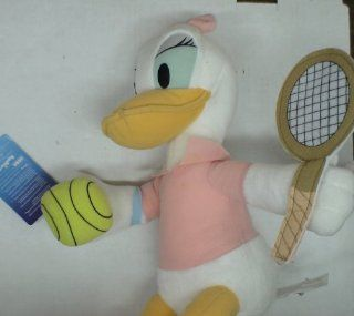 "Disney 12"" Daisy Duck Tennis Plush Doll: Toys & Games"