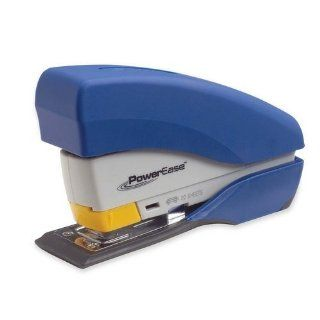 SWI87866   Desktop Stapler, Staples 20 Sheets, Plastic, Blue : Desk Staplers : Office Products