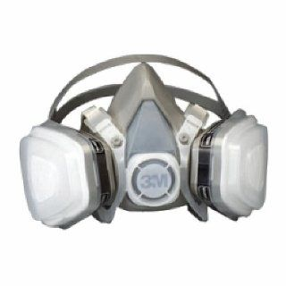 3M Dual Cartridge Respirator Assembly, Organic Vapor/P95   Medium   Papr Safety Respirators