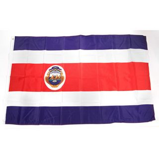 Premiership Soccer Costa Rica National Team Flag (300 1105)