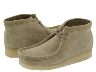 Clarks Wallabee Boot Mens Lace up casual Shoes (Tan)