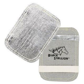 Revco Black Stallion BP 75 Aluminized Fiberglass Glove Backpad, Heavy Duty, OSFM   Work Gloves
