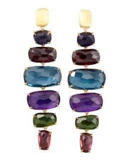 Murano 18k Six Drop Semiprecious Earrings   Marco Bicego   (18k )