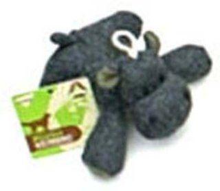 Booda Eco Friendly Plush Dog Toy Small Hippo  Catnip Toy Balls