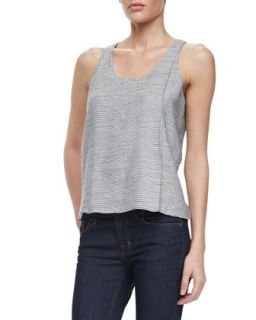 Womens Tracey Thin Stripe Tank   J Brand Ready to Wear   Duke (SMALL)
