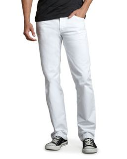 Mens Sid Classic Straight Leg, Sole   Citizens of Humanity   White (36)