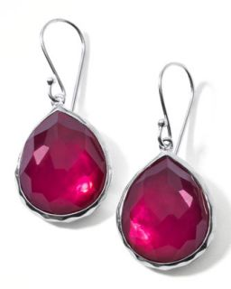 Raspberry Doublet Drop Earrings, Mini   Ippolita   Silver