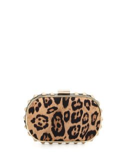 Samantha Leopard Print Clutch Bag   Urban Originals