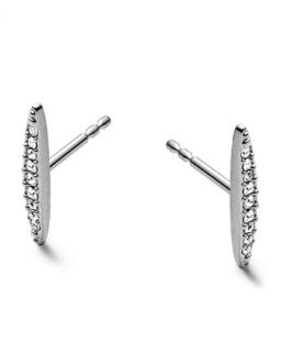 Matchstick Post Earrings, Silver Color   Michael Kors   Silver