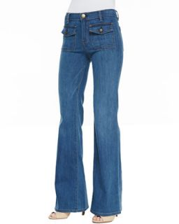 Womens Dixie Wide Leg Jeans, Cooper   Current/Elliott   Cooper (24)