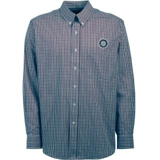 Antigua Seattle Mariners Mens Monarch Long Sleeve Dress Shirt   Size: XXL/2XL,