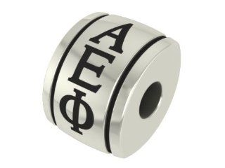Alpha Epsilon Phi Barrel Sorority Bead Fits Most Pandora Style Bracelets Including Pandora, Chamilia, Biagi, Zable, Troll and More. Officially Licensed, High Quality Exclusive Bead in Stock for Immediate Shipping: Jewelry