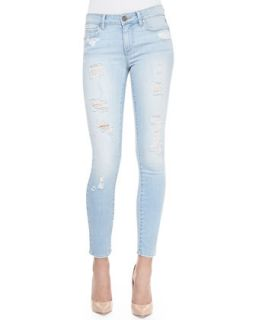 Womens Verdugo Cropped Skinny Jeans, Naomi Deconstructed   Paige Denim   Naomi