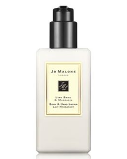 Lime Basil & Mandarin Body & Hand Lotion, 250ml   Jo Malone London   No color