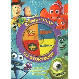 Disney/Pixar CD Storybook Finding Nemo, Monsters, Inc., A Bug's Life, Toy Story    Includes 4 Stories and 8 Rhymes (Book and Audio CD) Disney Enterprises Inc. 9781741213997 Books