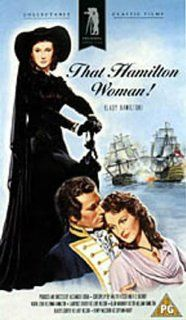 That Hamilton Woman [VHS]: Vivien Leigh, Laurence Olivier, Alan Mowbray, Sara Allgood, Gladys Cooper, Henry Wilcoxon, Heather Angel, Halliwell Hobbes, Gilbert Emery, Miles Mander, Ronald Sinclair, Luis Alberni, Rudolph Mat�, Alexander Korda, R.C. Sherriff,