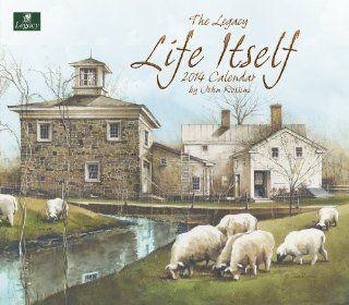 Legacy 2014 Wall Calendar, Life Itself by John Rossini
