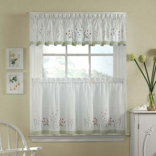 CHF Industries Garden Flowers Tailored Valance   Curtains