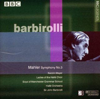 Mahler: Symphony No. 3: Recorded 1969: Music