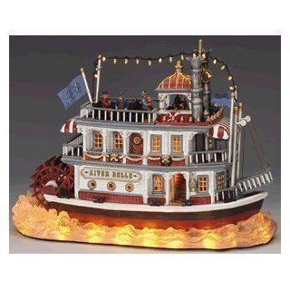 Lemax Christmas Village Collection River Belle Table Piece #45035   Holiday Figurines