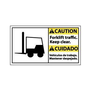 FORKLIFT TRAFFIC KEEP: Industrial Warning Signs: Industrial & Scientific