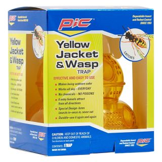PIC Yellow Jacket and Wasp Trap   Flying Insects