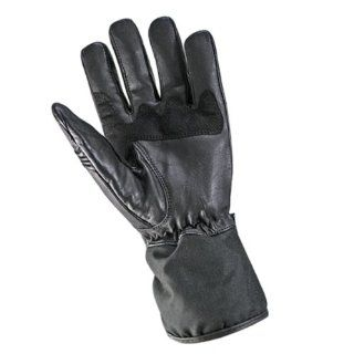 Xelement Mens Naked Cowhide and Textile Gauntlet Gloves   L: Automotive