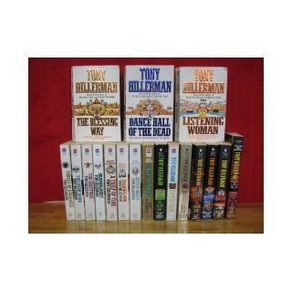 Joe Leaphorn and Jim Chee Mystery Series Complete Set by Tony Hillerman, Volumes 1 18. Also known as the Navajo Tribal Police Mystery Novels. (Titles include: The Blessing Way / Dance Hall of the Dead / Listening Woman / People of Darkness / The Darkwind /