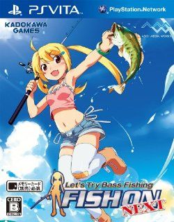 Let's Try Bass Fishing Fish On Vita [Japan Import] Video Games