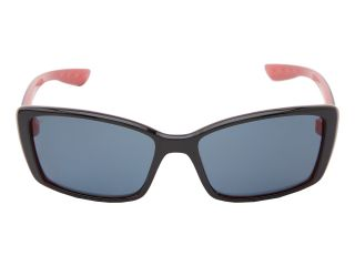 Costa Pluma 580 Plastic Black Coral/Gray 580 Plastic Lens