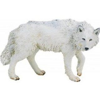 Safari Ltd White Wolf Figure 220029: Toys & Games