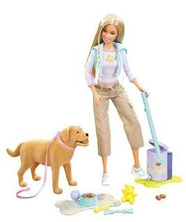 Barbie Forever Barbie Doll with Tanner the Dog Toys & Games