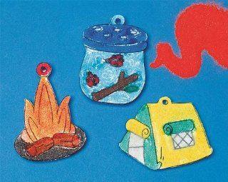 Campfire Sand Art Craft Kit: Toys & Games
