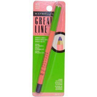 Great Line Eyeliner   400 Violet Eye Liner Women by Maybelline, 0.035 Ounce  Beauty