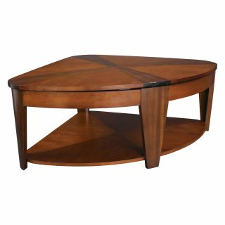 Hammary Oasis Wedge Lift Top Coffee Table   Coffee Tables