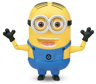 Despicable Me Minion Dave Talking Action Figure: Toys & Games