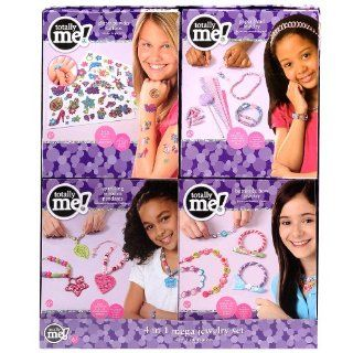 Totally Me! 4 in 1 Mega Jewelry Set: Toys & Games