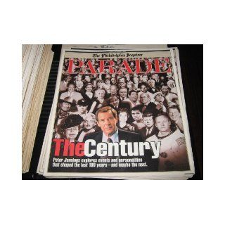 Peter Jennings.The Century (P.J. Explores Events & Personalities That Shaped The Last 100 Years   & Maybe The Next, November 8, 1998): Babe Ruth, JFK, MLK, Ali Jackie Robinson : Books