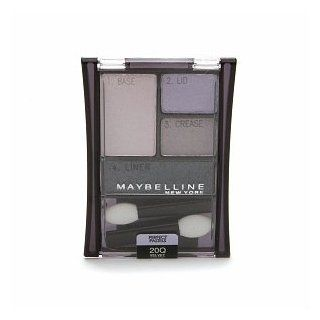 Maybelline ExpertWear Quad Eyeshadow, Velvet Crush 20   0.17 Oz, Pack of 2 (image may vary) : Eye Shadows : Beauty