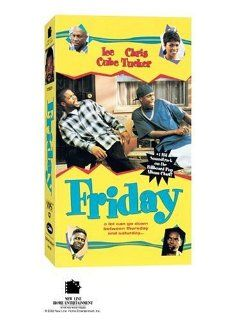 Friday [VHS]: Ice Cube, Chris Tucker, Nia Long, Tommy 'Tiny' Lister, John Witherspoon, Anna Maria Horsford, Regina King, Paula Jai Parker, Faizon Love, DJ Pooh, Angela Means, Vickilyn Reynolds, F. Gary Gray, Andre Robinson Jr., Bryan Turner, Helena