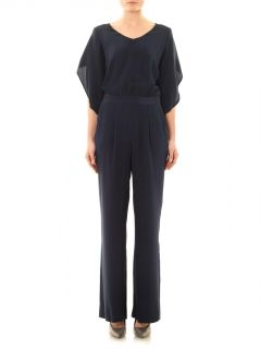 Lucy scoop neck jumpsuit  Diane Von Furstenberg  MATCHESFASH