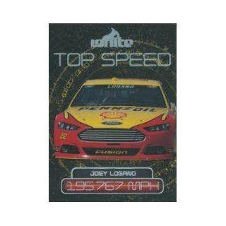 2013 Press Pass Ignite #59 Joey Logano's Car TS at 's Sports Collectibles Store