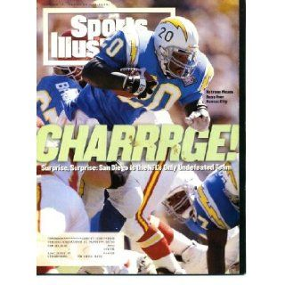 Sports Illustrated October 17 1994 Natrone Means/San Diego Chargers Cover, Martina Hingis, Miami/Florida State, Boston College/Notre Dame, Colorado State/Arizona, Kentucky Blues, John Elway/Denver Broncos, Tiger Woods/World Amateur Team Championship: Sport