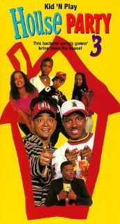 House Party 3 [VHS]: Christopher Reid, Christopher Martin, David Edwards, Angela Means, Tisha Campbell Martin, Immature, Ketty Lester, Bernie Mac, Michael Colyar, Chris Tucker, Tionne 'T Boz' Watkins, Lisa 'Left Eye' Lopes, Eric Meza, Carl